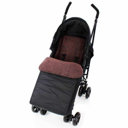 Footmuff Buddy Jet For Out n About Nipper Double 360 V4 Stroller Raven Black