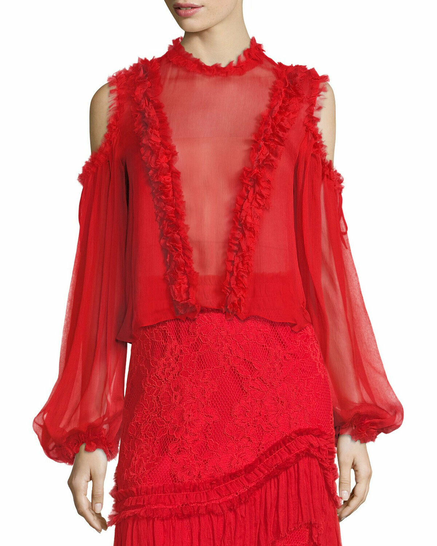 Alexis Belicia blouse rot Größe XS