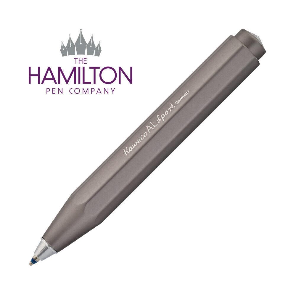 Available in 9 Elegant Aluminium Finishes KAWECO AL Sport Fountain Pen
