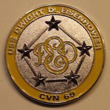 USS D.D.Eisenhower CVA-69 Challenge Coin