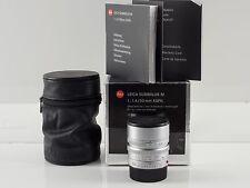 Leica M 50mm 1.4 ASPH 6bit codiert Summilux silber 11892