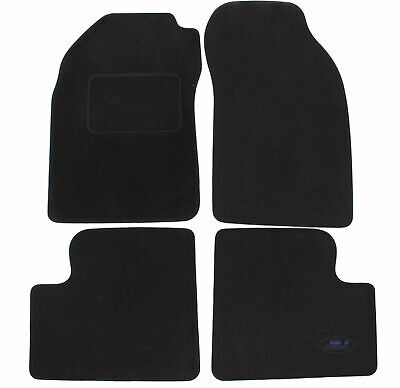 J/&J AUTOMOTIVE Tapis de Sol Noir Velours Compatible avec Honda Civic 3//5 Porte 2006-2012 4 pcs