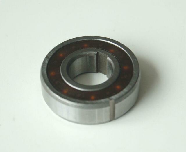 1 PC CSK17PP 6203-2RS 17x40x12 mm One Way Clutch Dual Keyway Bearing
