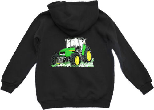 "Kapuzenshirt Hoodie Traktor /""John Deere/"" Kinder Sweatshirt"