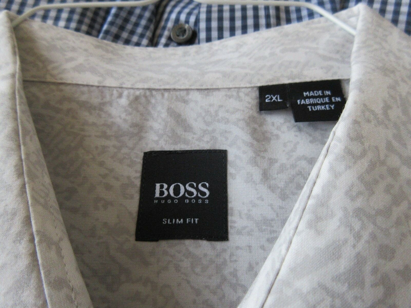 Hugo Boss , Size 2XL Slim Fit , Long Sleeve Shirt , 100