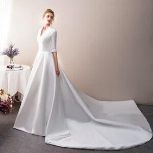 2019-schlichtes-Brautkleid-Hochzeitskleid-Kleid-Braut-Babycat-collection-BC705