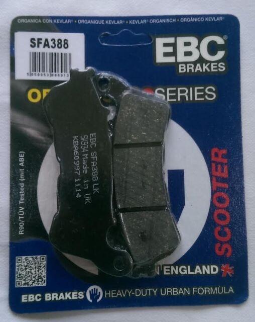 HONDA FJS600/swt600 Silver Wing (11 to 16) EBC PASTILLAS DE FRENO DISCO