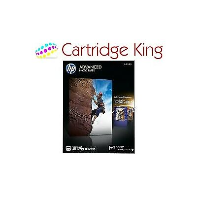 HP Advanced 13x18 Glossy 25 sheets FSC Photo Paper borderless