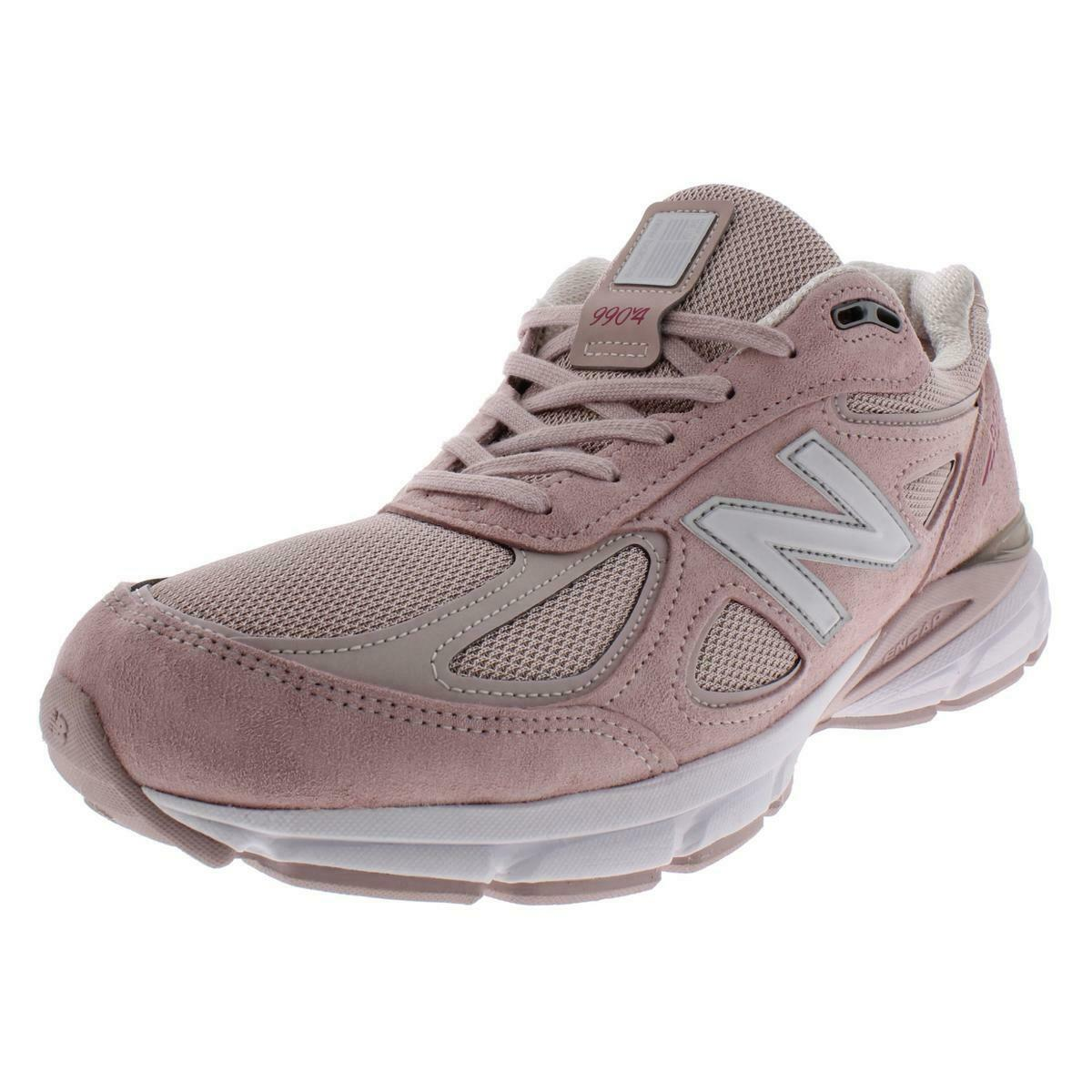 New Balance Mens Pink Suede Running shoes Athletic 11.5 Medium (D) BHFO 3536