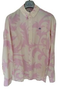 Mens-MAN-by-VIVIENNE-WESTWOOD-krall-long-sleeve-shirt-size-50-medium-large