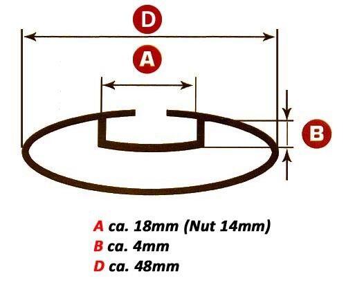 Alu Relingträger VDP L120 für Renault Megane Kombi ab 03 Dachträger bis 75kg