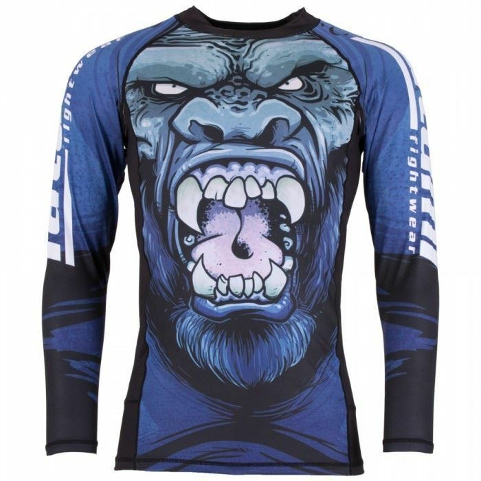 Tatami Gorilla Smash BJJ Rash Guard Adult Mens Womens MMA NO-Gi Compression Top