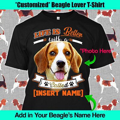 Beagle Dog Design T Shirt