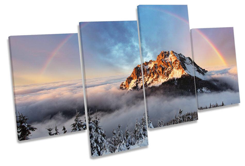 Mountain Fatra Slovakia MULTI CANVAS WALL ART Print Picture
