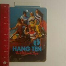 Pegatina/sticker: hang ten the California Style (08011732)
