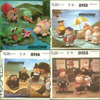Mccalls Sewing Pattern Hugachum Mccall's Hugachums Stuffed Doll Toy You Pick