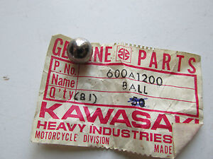 KAWASAKI NOS NEW BALL 3/8 Z1 KZ KX KV ZX KXT ZR ZL ZG GN 1971-2012 600A1200 OM11