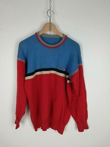 FILA-Maglione-VINTAGE-in-LANA-Pullover-Cardigan-Sweater-Tg-M-Uomo