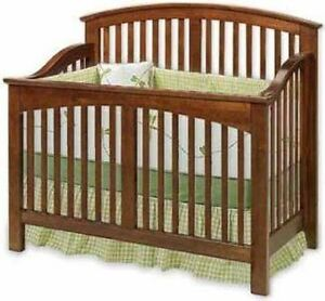 Nursery Baby Convertible Crib Woodworking Plans, Cutting ...