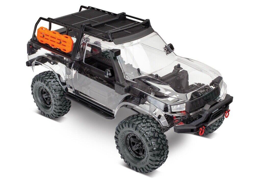 Traxxas TRX-4 SPORT 4X4 KIT ohne Elektronik 4WD Crawler incl.Zubehör-Kit 1 10