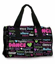 "Dance Bag by DANSHUZ - ""DANCE INTERNATIONAL DUFFEL"""