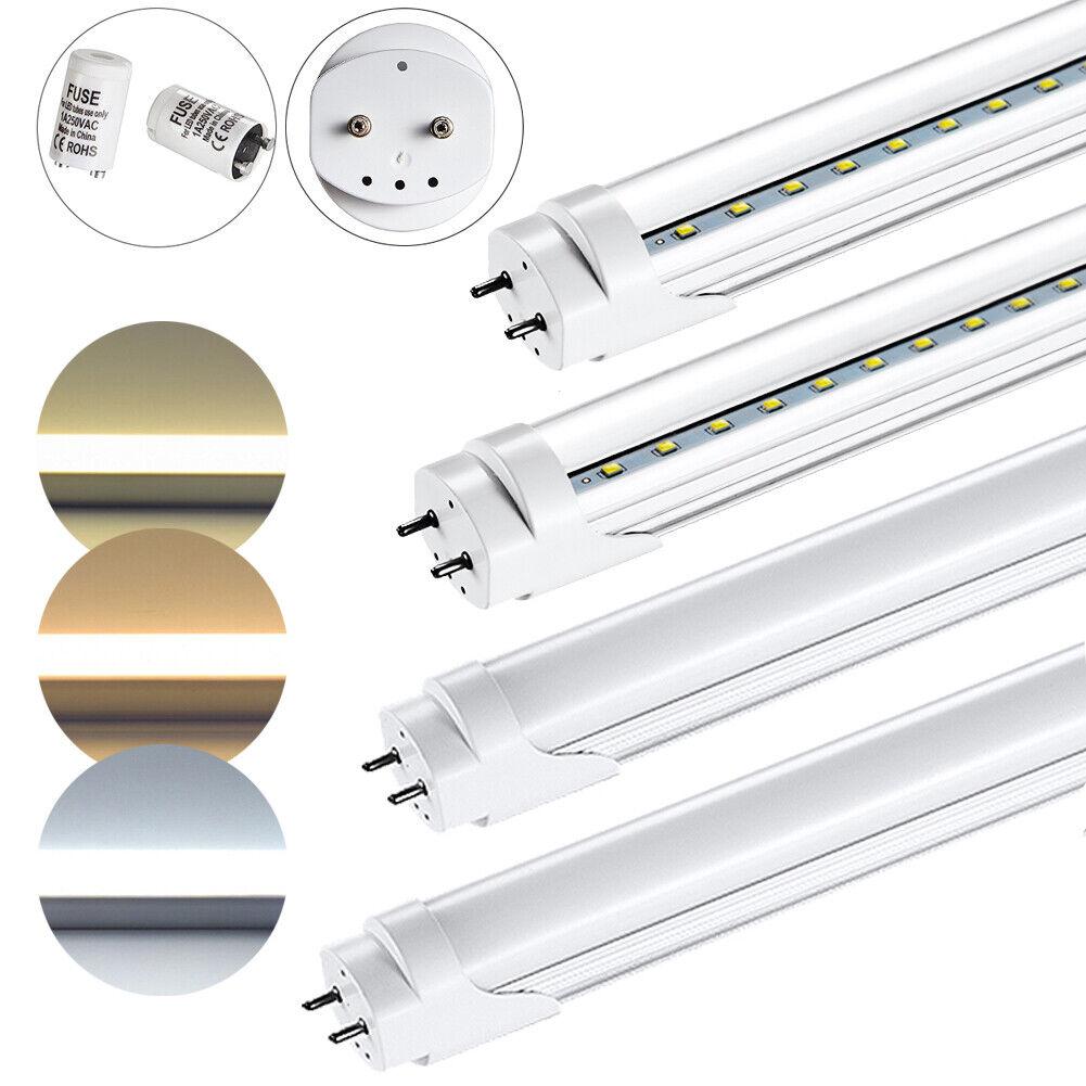 LED Röhre T8 Fassung 60-150cm Röhren Lichtleiste Leuchtstoffröhre Lampe Tube