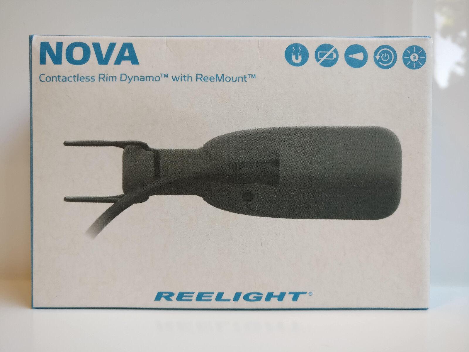 Reelight NOVA Contactless Rim Dynamo ReePower Modular for Bike Bicycle Cycling