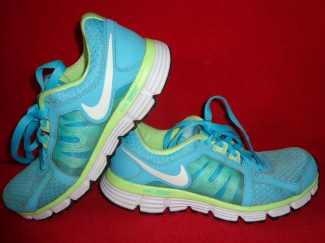 d5a0c28c655 Women s Nike Dual Fusion St2 Blue green Athletic Running SNEAKERS ...