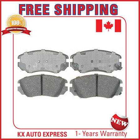 FRONT CERAMIC BRAKE PADS FOR BUICK LACROSSE 2010 2011 2012 2013 2014 2015