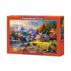 Castorland CastC-151462-2 Mountain HideawayPuzzle 1500