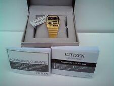 Citizen ana/digi/Temp Gold Tone Orologio (JG2002-53P)