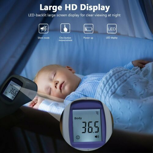NEW Infrared Thermometers Baby Non Contact Digital Body Adults LCD Forehead TK