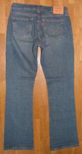 hueftige-LEVI-S-515-BOOTCUT-Damen-Jeans-in-blau-Gr-4M-ca-W30-034-L33-034