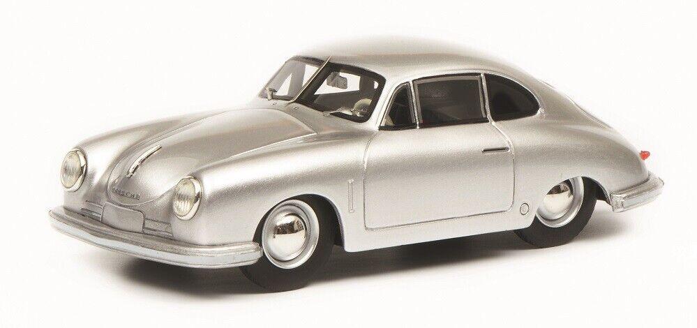 Schuco Pro.R Pro.R Pro.R 08798 - 1 43 Porsche 356 Gmünd Coupé - silver - Neu 944c62