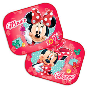 2 x Disney Minnie Mouse Car Sun Shade UV Baby Children Kids Window ... 2586d43f128