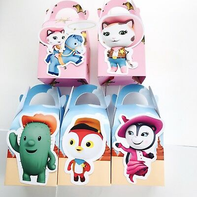 Party Supplies Bunting Banner Flag Cake 5x Doc McStuffins Lolly Loot Bag Box