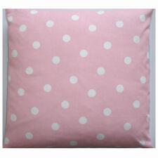 "NEW 16"" Cushion Cover Baby and White Polka Dots Pink Nursery Pillow Polkadots"