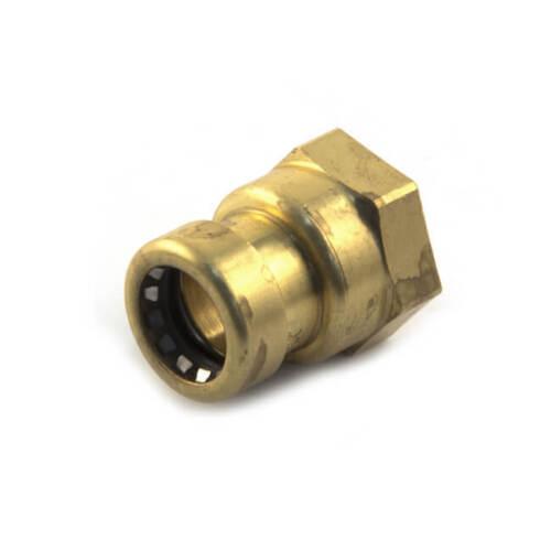 "2 X TECTITE SPRINT PUSH-FIT Straight Female Connectors 15 mm x 1//2/"" Plumbing"
