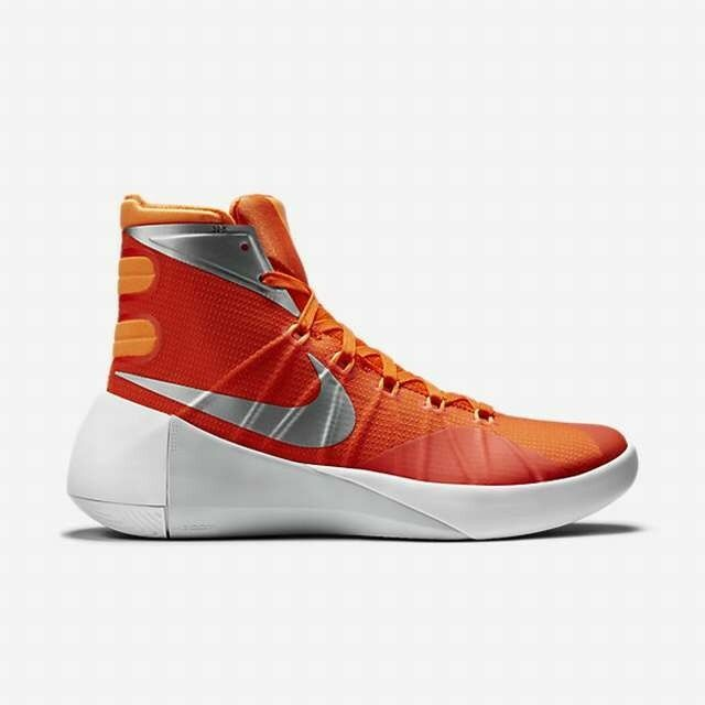 brand new 4678e 42167 Womens Nike Hyperdunk 2015 TB Basketball Shoe WMNS Size 12 -orange for sale  online   eBay
