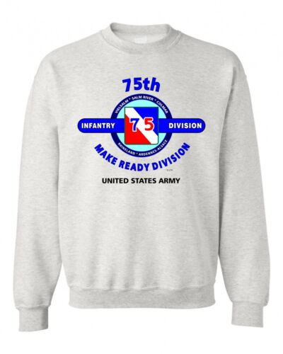 """78TH INFANTRY DIVISION /""""JERSEY LIGHTNING /"""" BATTLE /& CAMPAIGN SWEATSHIRT"""