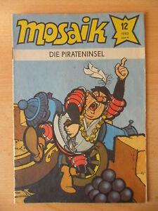 100% Vrai Mosaïque Abrafaxe 12 - 1982 --- Nº 84 Les Pirates île-afficher Le Titre D'origine DernièRe Technologie