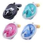 Swimming Full Face Anti-Fog Mask Surface Goggles Diving Snorkel Scuba for GoPro