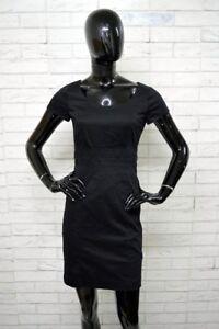 Vestito-Donna-H-amp-M-Taglia-36-Abito-Dress-Tubino-Woman-Elastico-Nero-PARI-AL-NUOVO