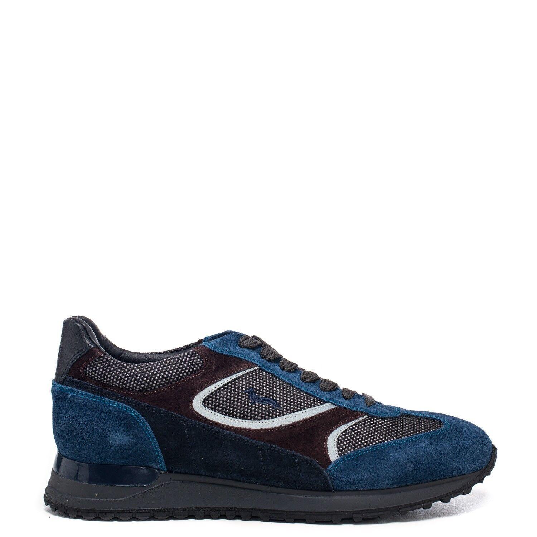 HARMONT & BLAINE TRAINING CAMOSCIO HIPSTER - Azzurro brown - E2045611