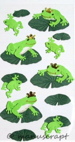 Artoz Artwork 3D-Sticker Frosch