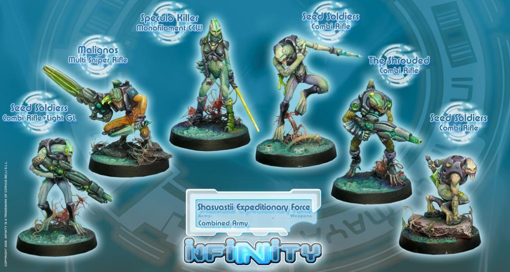 Infinity BNIB Combined Army - Shasvastii Sectorial Army