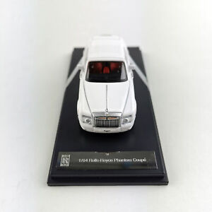 Original-1-64-Rolls-Royce-Phantom-Coupe-White-Diecast-Car-Model-Collections