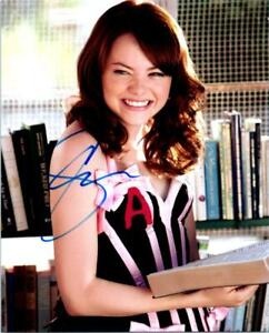 Emma Stone signed 8x10 Photo Picture autographed Pic with COA