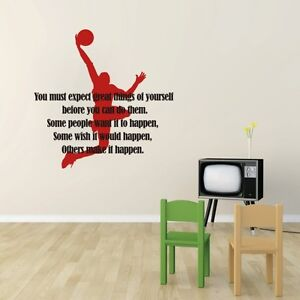 exercise sport wall decal inspirational gym quote gym room