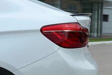 2014-2016 BMW X6 F16 X6 M F86 Rear Wing Trunk Boot Lip Spoiler ABS Unpainted v.1